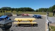 Biker picnic area
