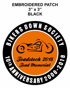 Bikers Down Society - Toad Memorial 2018